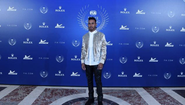 Lewis Hamilton during the FIA Prize Giving at Versailles