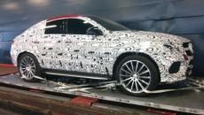 Mercedes-AMG MLC SUV Spied