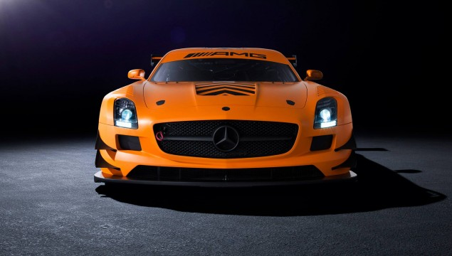"SLS GT3 AMG is one of five ""45th Anniversary Edition"""