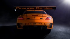 "SLS GT3 AMG is one of five ""45th Anniversary Edition"" rear"