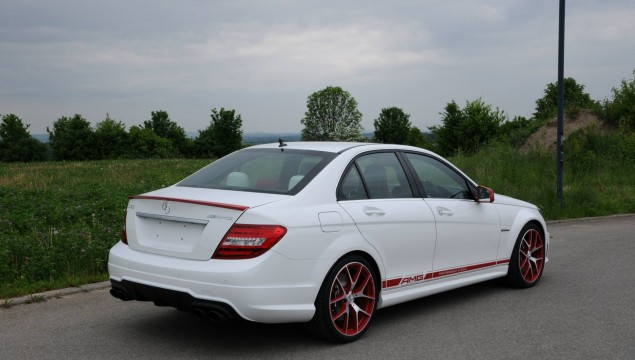Performance Studio Exclusive: Mercedes C 63 AMG Edition 507