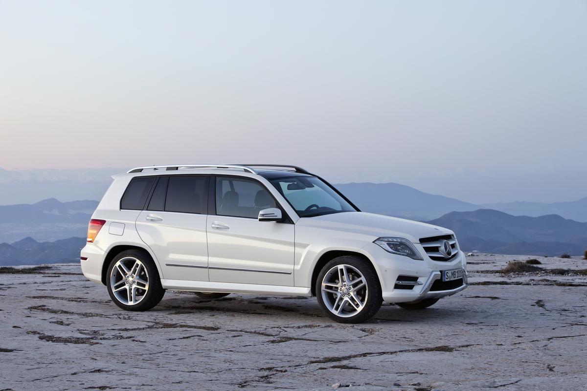 2013 Mercedes-Benz GLK-Class exterior white