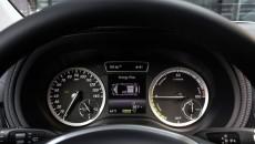 2014 Mercedes-Benz B-Class Electric Drive dashboard