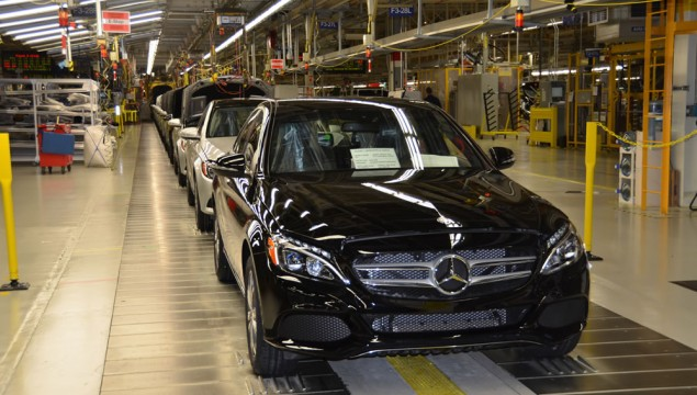Mercedes-Benz C-Class Production Started in Alabama