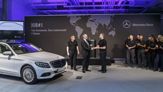 New Mercedes-Benz C-Class Production Begins