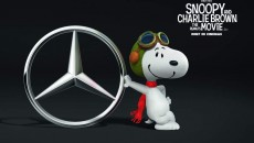Snoopy, Mercedes-Benz' biggest fan