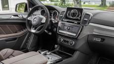 Mercedes-AMG GLS 63 4MATIC, Interieur: Leder Nappa espressobraun, Zierteile: AMG Carbon interior: leather nappa espresso brown, trim parts: AMG carbon
