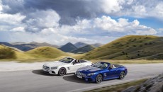 AMG SL 63 (diamond white), SL 500 (brilliant blue)