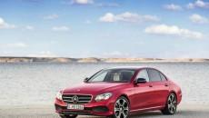 2017 Mercedes-Benz E-Class - E 220 d, AVANTGARDE, Night Package, Hyazinth red, black/macciato