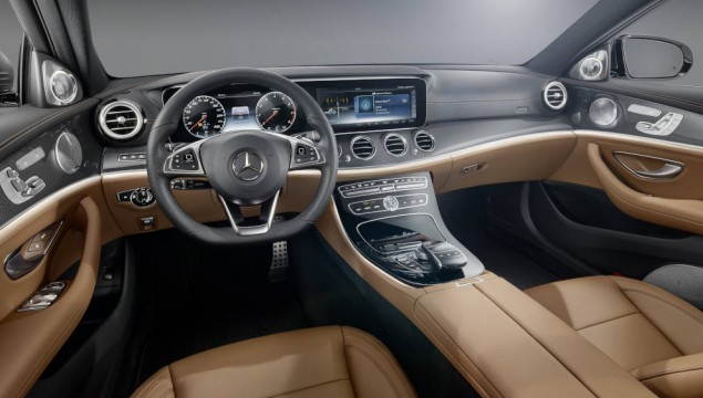 The new E-Class – Design Insight: interior