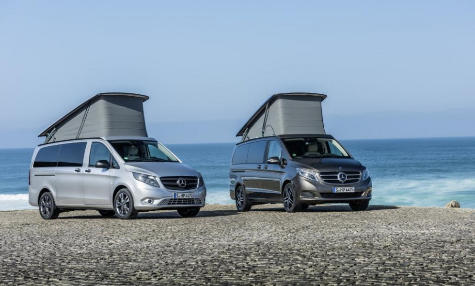 Mercedes Benz Becomes Synonymous With Camping Emercedesbenz