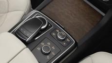 GLS 500 4MATIC ( Studio ), Interior: Nappaleder Porzellan/schwarz, AMG Line, Zierteile: Holz Esche braun offenporig, interior: nappa leather porcelain/black, AMG line, trim parts: brown open-pore ash wood trim