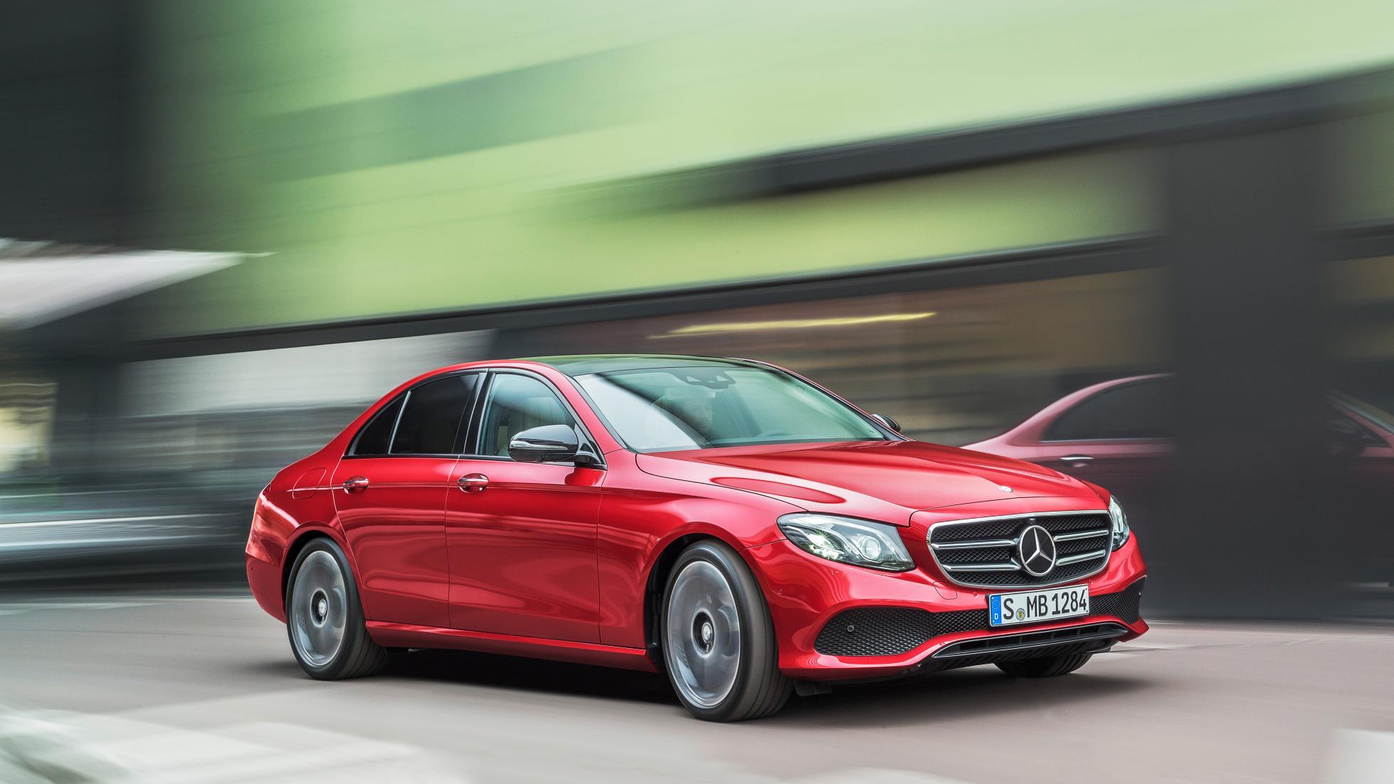 Top Gear Drives the New MercedesBenz EClass  eMercedesBenz