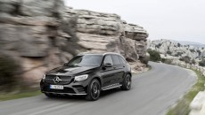 Mercedes-AMG GLC 43 - xterior: obsidian black; interior: leather black, performace seats Fuel consumption, combined (l/100 km): 8.3 CO2 emissions, combined (g/km): 189