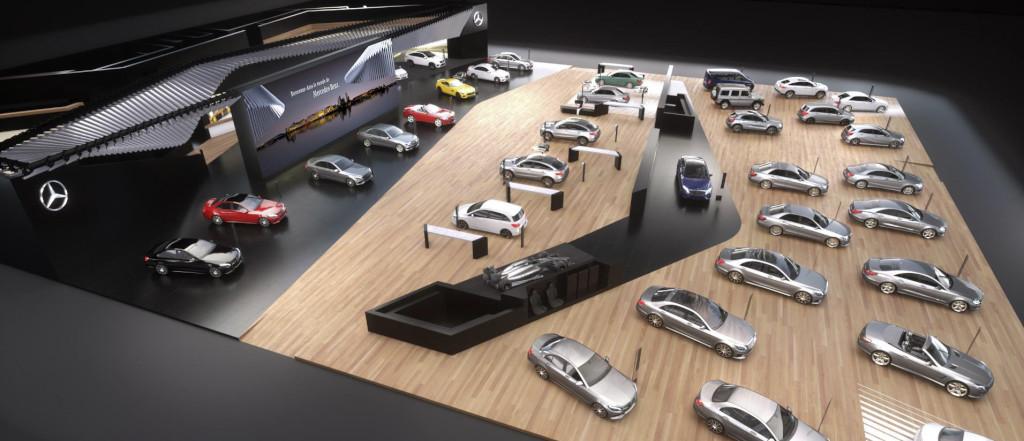 Mercedes-Benz Cars auf dem 86. Internationalen Automobil-Salon G