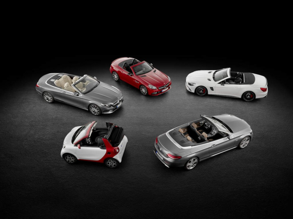 Cabriolets by Mercedes-Benz Cars