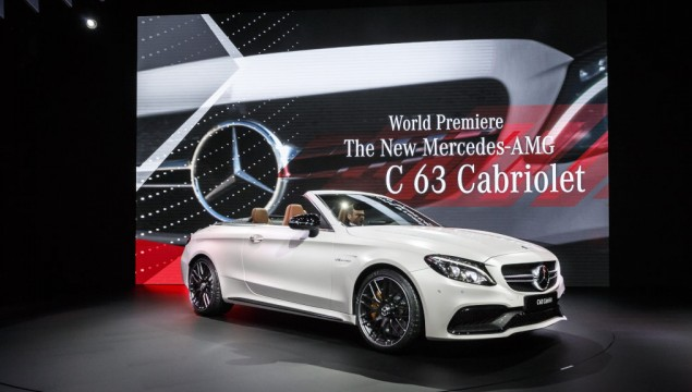 Mercedes-Benz at the 2016 New York International Auto Show