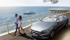 "World premiere on the Côte d'Azur: The luxury motor yacht ""Arrow460–Granturismo"" designed by Mercedes-Benz Style has embarked on its maiden voyage off the coast of Nice. The launch on the Côte d'Azur was accompanied by the new Mercedes-Benz S-Class Cabriolet and the luxury helicopter ""H145 Mercedes Benz Style"" by Airbus Helicopters."