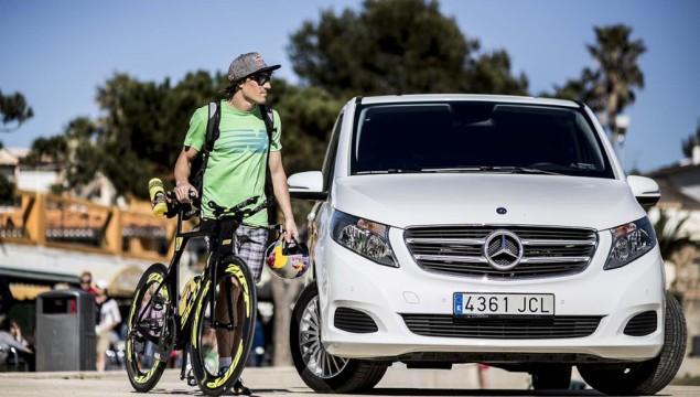Mercedes-Benz Sponsors Ironman Sebastian Kienle