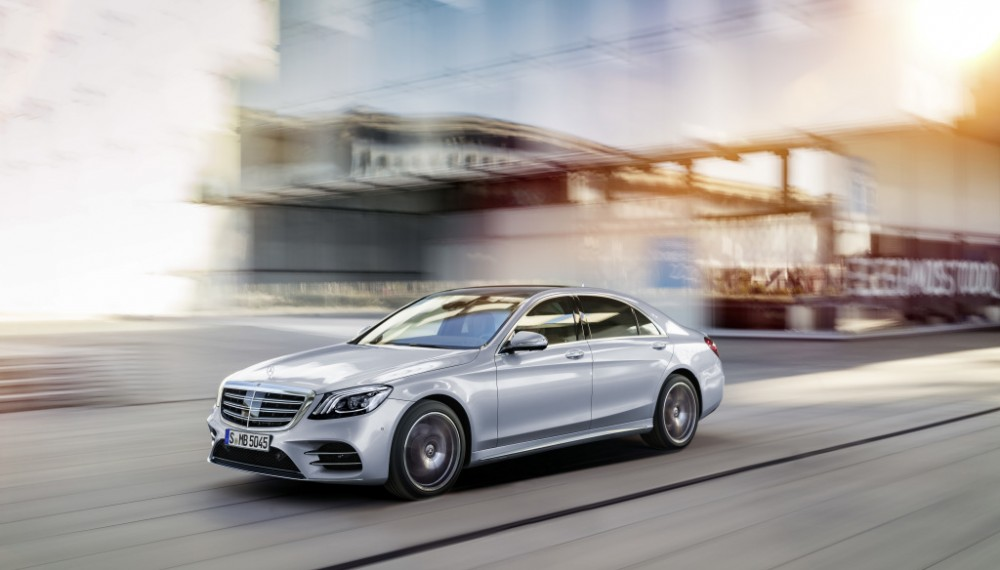 Mercedes-Benz S-Class; long wheelbase