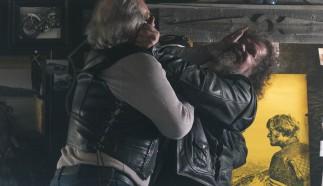 """Eindrücke des Films """"Easy Driver"""" der Oscar Gewinner Joel and Ethan Coen für das amerikanische Football-Finale, mit Peter Fonda und dem neuen Mercedes-AMG GT Roadster. ;"""