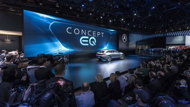 Mercedes-Benz at the 2017 North American International Auto Show