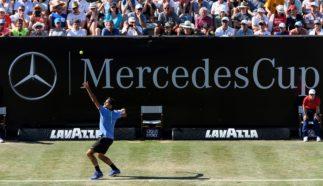 MercedesCup 2018: Roger Federer on court in Stuttgart