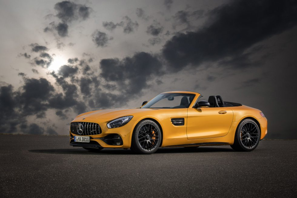 MERCEDES-AMG GT C Roadster, AMG solarbeam