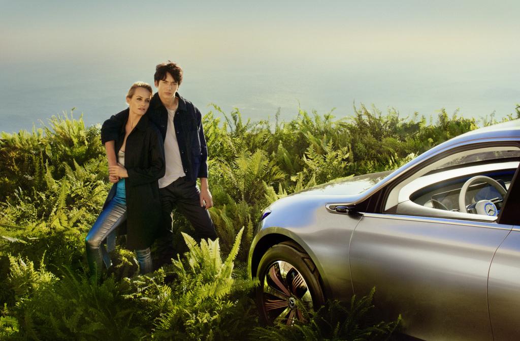 Mercedes-Benz Global Fashion Engagement 2017: Amber Valletta und das Concept EQ