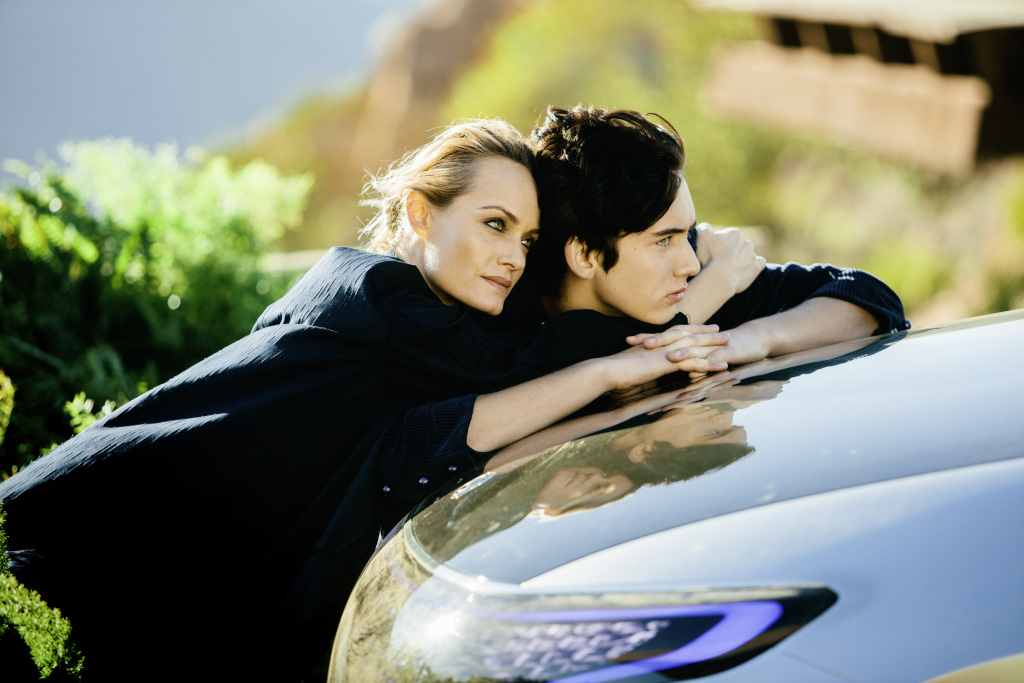 Mercedes-Benz Global Fashion Engagement 2017: Amber Valletta und das Concept EQ