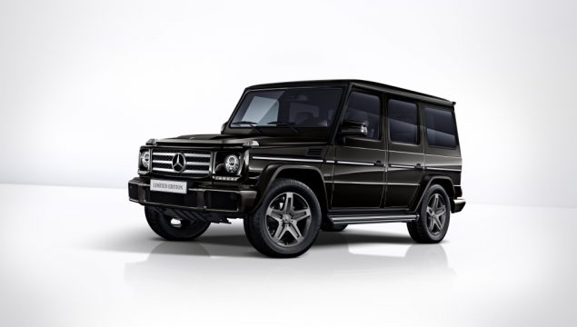 Mercedes-Benz G 350 d Limited Edition