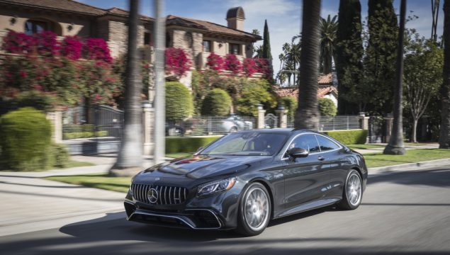 Mercedes-AMG S63 4MATIC+ Coupe, magnetite black metallic; AMG designo Exclusive nappa leather