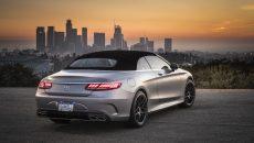 Mercedes-AMG S63 4MATIC+ Cabriolet, designo allanite grey magno; AMG designo Exclusive nappa leather crystal