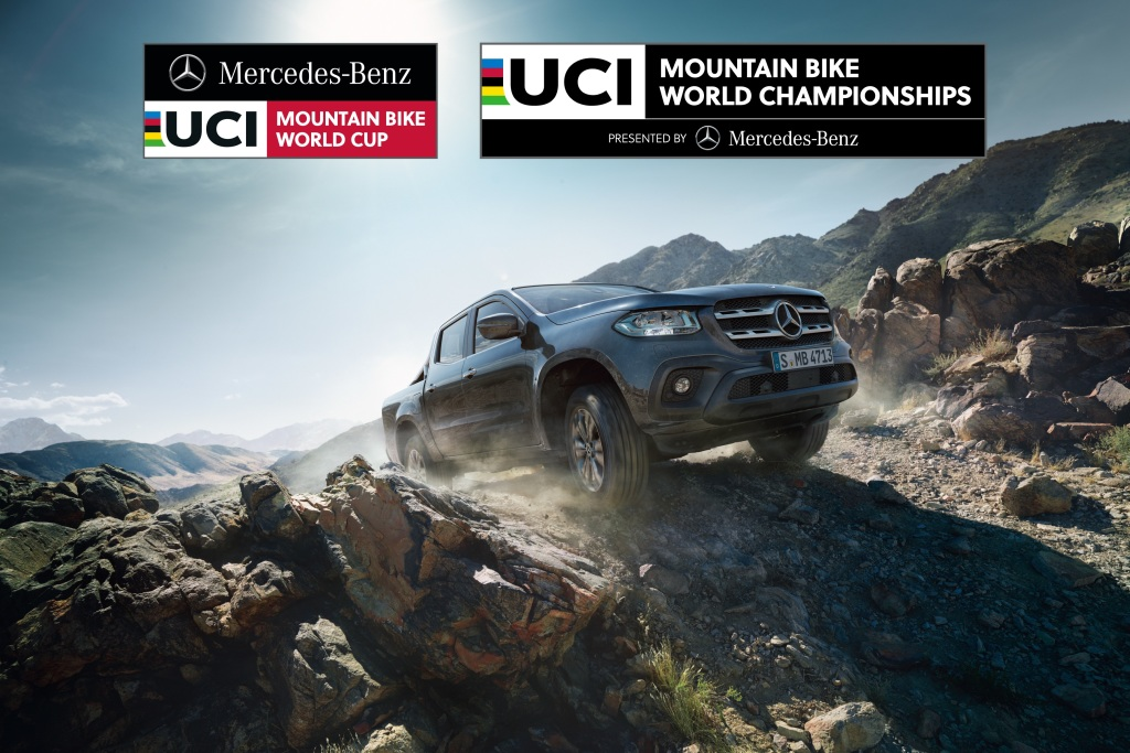 Mercedes-Benz Vans is becoming the main partner of the UCI Mountain Bike World Cup and World Championships.