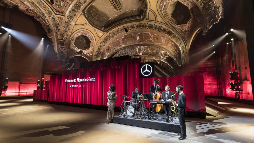 Mercedes-Benz New Year's Reception on the eve of the 2018 North American International Auto Show (NAIAS). World Premiere of the new Mercedes-Benz G-Class.