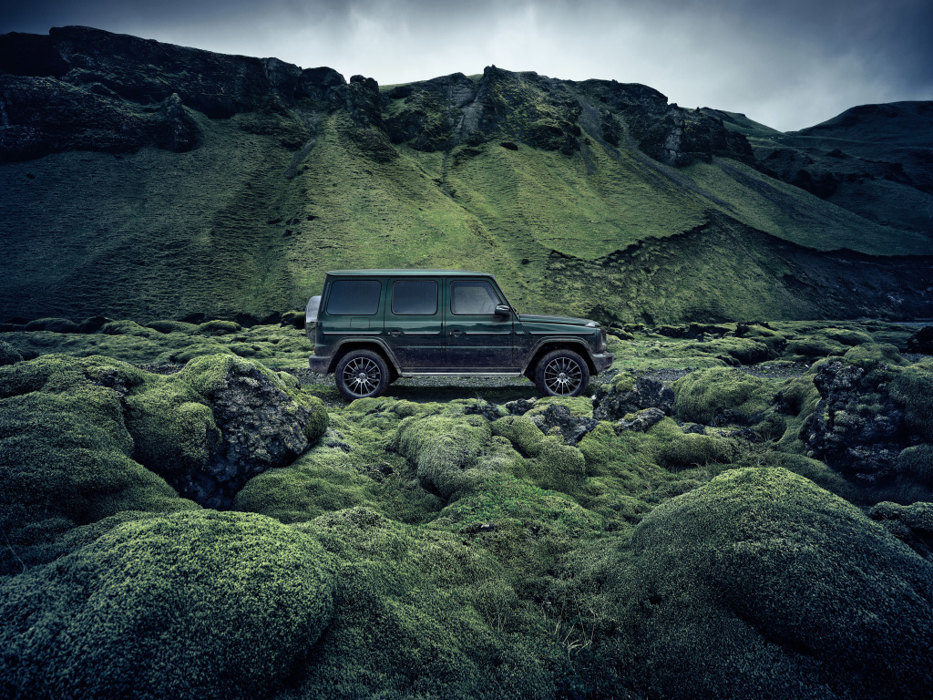"""""""The iconic car is our oldest series and has developed from a pure off-road vehicle to an icon of the postmodern world of life. He is simply stronger than time and stands confidently over every fashion trend """", said Dr. Gunnar Güthenke, Head of Mercedes-Benz Product Division G-Wagon."""