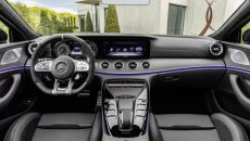 Mercedes-AMG GT 53 4MATIC+ 4-Door Coupé, AMG Night-packet, Interior: Leather nappa exclusive magma grey / black, Body trim: AMG body trim carbon matt;Fuel consumption combined: 9.1 l/100 km; combined CO2 emissions: 209 g/km* (provisional data)