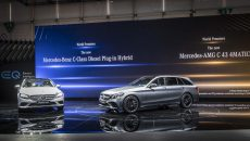 At the 88th Geneva Motor Show, Mercedes-Benz is presenting a slew of world premieres in a clear demonstration that the brand with the three-pointed star offers vehicles to suit all needs. First to be unveiled was the all-new Mercedes-AMG GT 4-Door Coupé (fuel consumption combined: 11.2-9.1 l/100 km; CO2 emissions combined: 256-209 g/km*), which augments the successful AMG GT family with another member. Also celebrating its world premiere was the new Mercedes-AMG G 63 (fuel consumption combined: 13.1 l/100 km; CO2 emissions combined: 299 g/km*), the