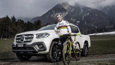 Six-times mountain biking world champion and Olympic medallist Nino Schurter becomes new brand ambassador for the Mercedes-Benz X-Class