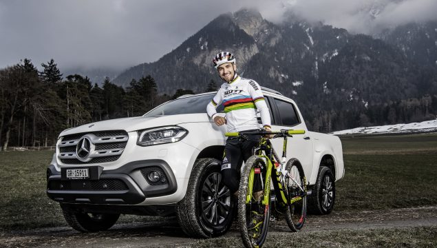 Six-times mountain biking world champion and Olympic medallist Nino Schurter becomes new brand ambassador for the Mercedes-Benz X-Class