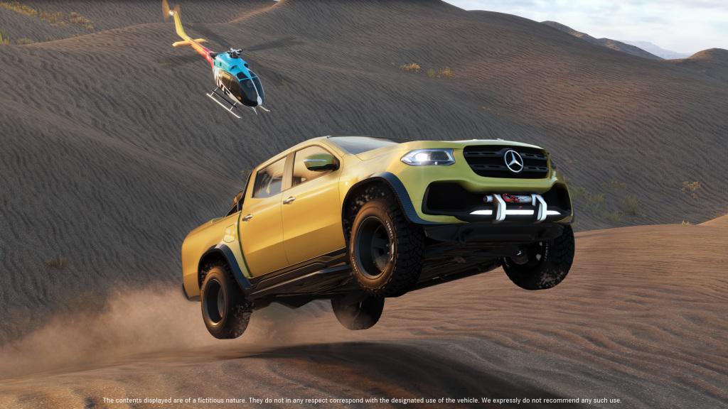 """Pickup mit Stern goes virtual: Offroad-Mission für die Mercedes-Benz X-Klasse im kommenden Videospiel """"The Crew 2"""""""