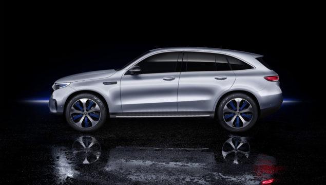 The Few Mercedes-Benz EQC - Highlights
