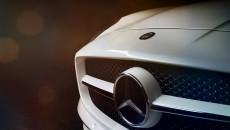 Mercedes-Benz SLS AMG grille