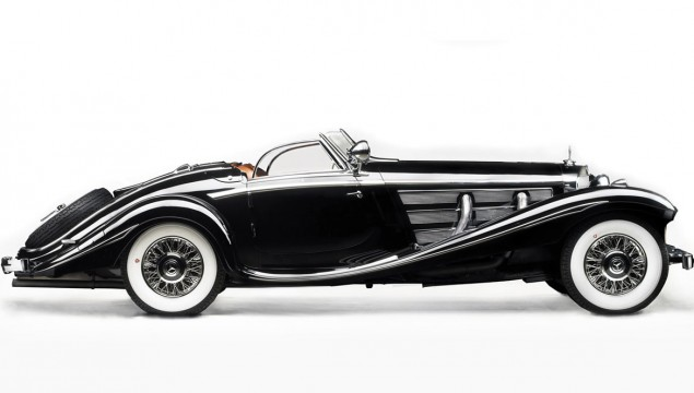 The 1936 540K was one of the supercars of its day.  It was powered by a 5.4L supercharged inline eight, producing180 HP and rode on a four-wheel independent suspension.   The car in the photo is a 1936 Mercedes-Benz 540K von Krieger.  Originally built for a Royal Prussian family in 1936, it was recently sold at auction for $11.7 million.