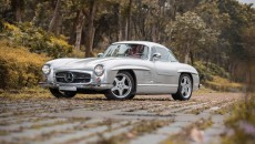 1954 Mercedes-Benz 300 SL Gullwing grille