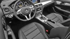2012 Mercedes-Benz C250 Coupe interior