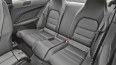 2012 Mercedes-Benz C250 Coupe back seat