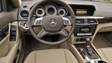 2012 Mercedes-Benz C300 Luxury Sedan steering wheel