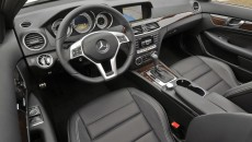 2012 Mercedes-Benz C350 Coupe interior