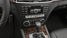 2012 Mercedes-Benz C350 Coupe center console